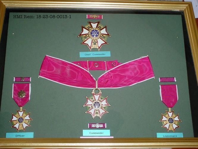 The Legion of Merit.