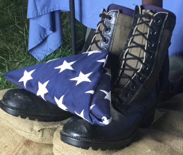 When A Flag Sits Upon the Boots